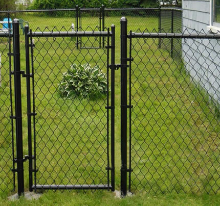 black vinyl chain link fence specifications 3