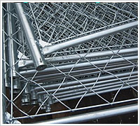 9 gauge stainless steel 5ft chain link fence