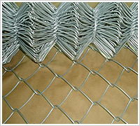 stainless steel wire mesh chain link fence