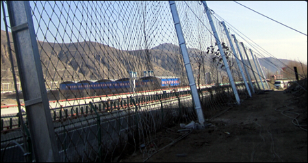 Passive protection galvanized rope mesh fence